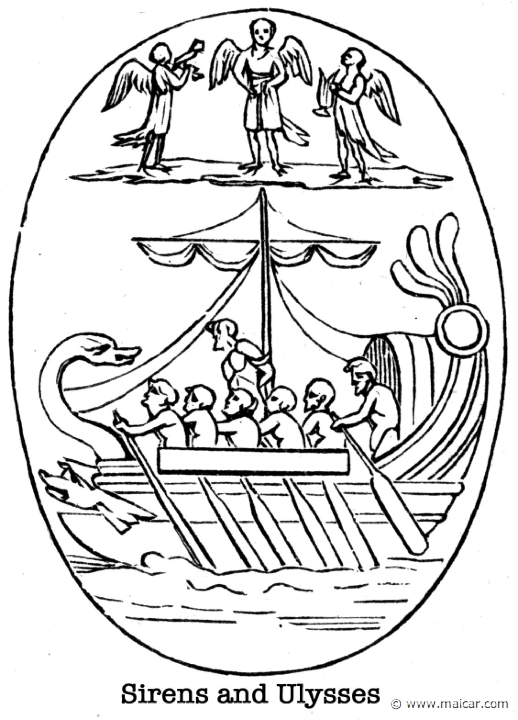 Iconography sirens gay321 for Odysseus coloring pages