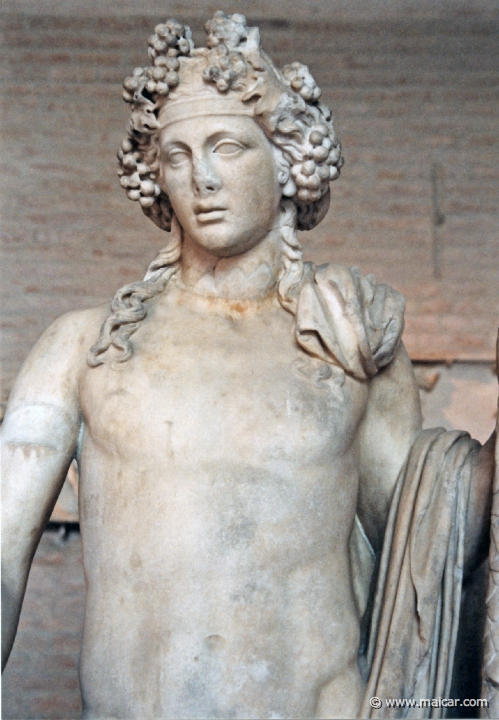 an overview of the greek god dionysus Character overview dionysus, the greek god of fertility, wine, and ecstasy, was popular throughout much of the ancient world in rome he was known as bacchus .